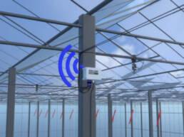 assistente gestione strategia irrigua trutina Wi Fi